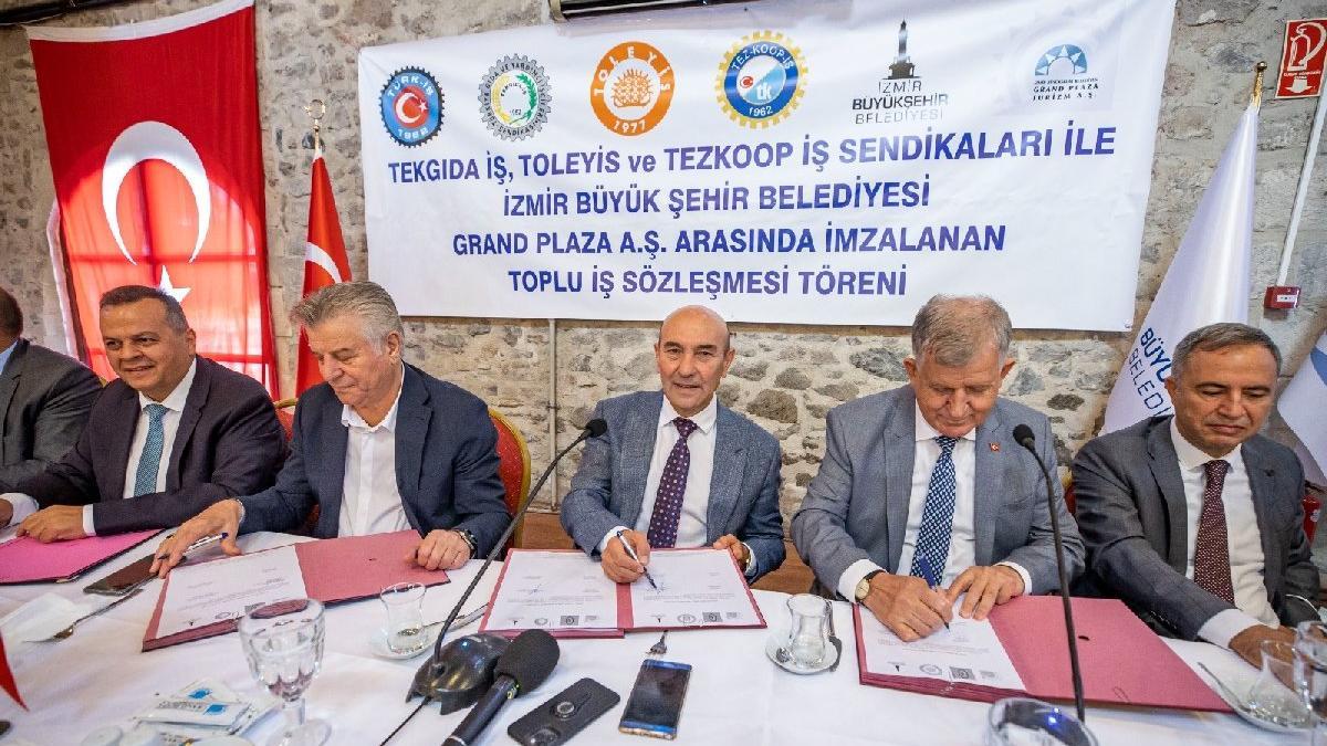 İzmir'de belediye işçilerine yüzde 33 zam