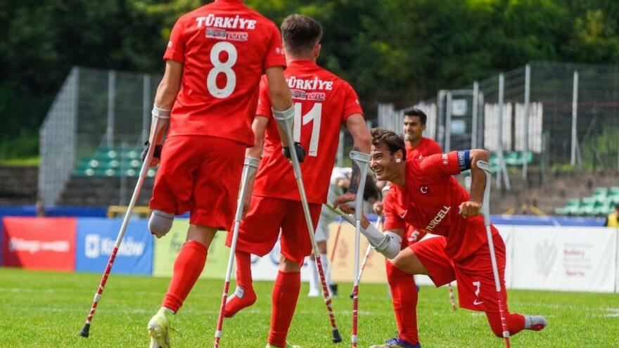 Ampute Futbol Milli Takımı, yarı finalde