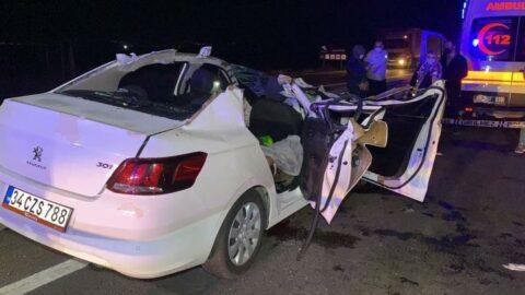Aksaray'da düğün yolunda feci kaza: 2 ölü, 4 yaralı
