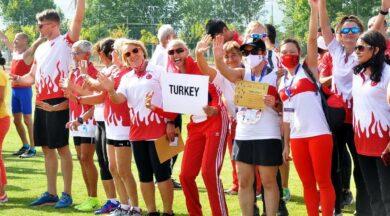 Balkan Masterlar Atletizm Şampiyonası'na Türk atletler damgasını vurdu