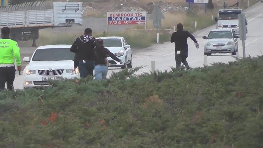 Konya'da kaza! Yaralı yakınlarının saldırmak istediği sürücü kaçtı