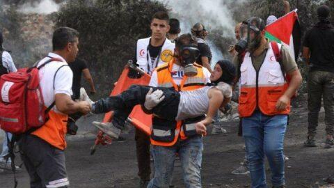 İsrail'den Filistinlilere sert müdahale: 217 yaralı