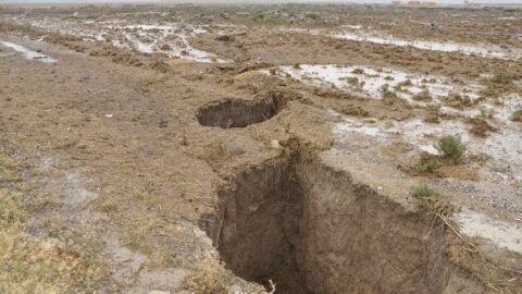 Konya'daki dev yarıklar korkutmuştu! Oluşma sebebi açıklandı