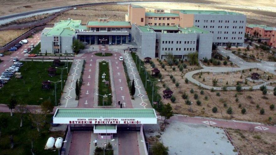 Konya'da corona testi pozitif çıkan mahkûm, hastaneden firar etti
