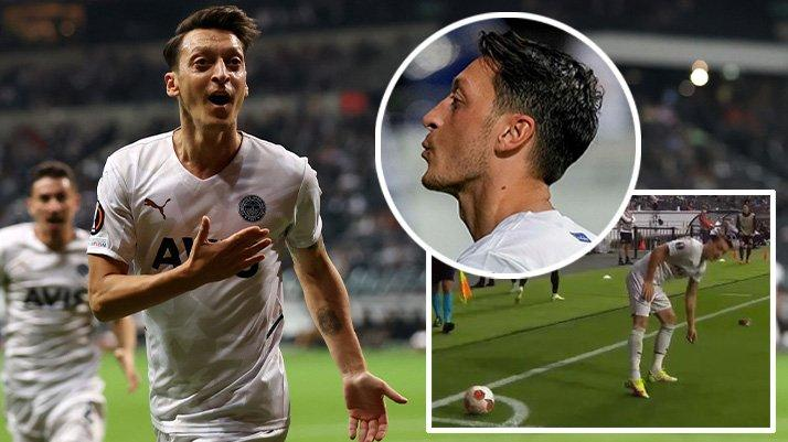 Mesut Özil'den Alman taraftarlara olay karşılık! Tepki gelince döndü ve…