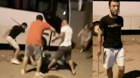 Palalı saldırıya ait yeni görüntüler ortaya çıktı: 3 kişi gözaltında