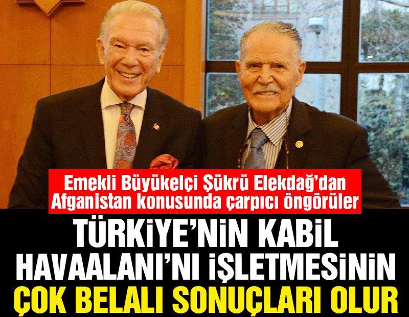 Türkiye'nin Kabil Havaalanı'nı işletmesinin çok belalı sonuçları olur!..
