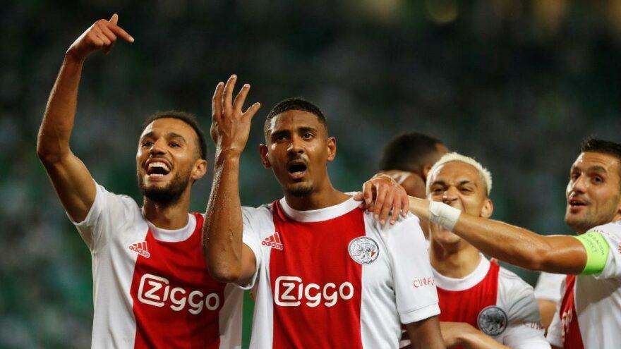 Beşiktaş'ın rakibi Ajax gol oldu yağdı