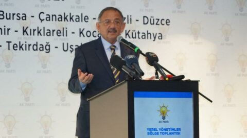 AKP'li Mehmet Özhaseki'den muhalefete sert sözler