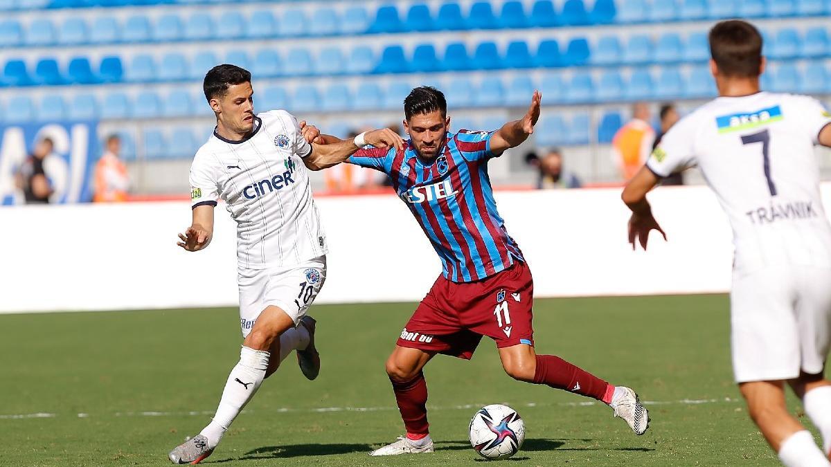 Kasımpaşa-Trabzonspor maçında muhteşem füze üç puanı getirdi