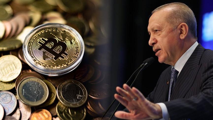 Cumhurbaşkanı Erdoğan'dan kripto para açıklaması