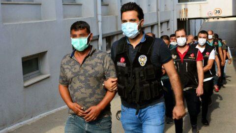 Adana'da 9 'torbacı' tutuklandı