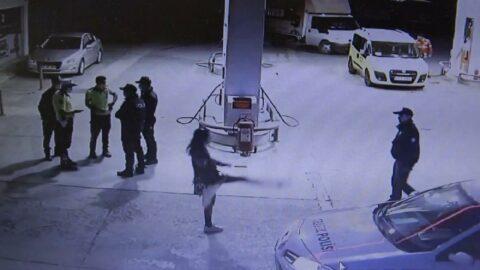 Turist kadının yaptıkları polisi bile şaşırttı