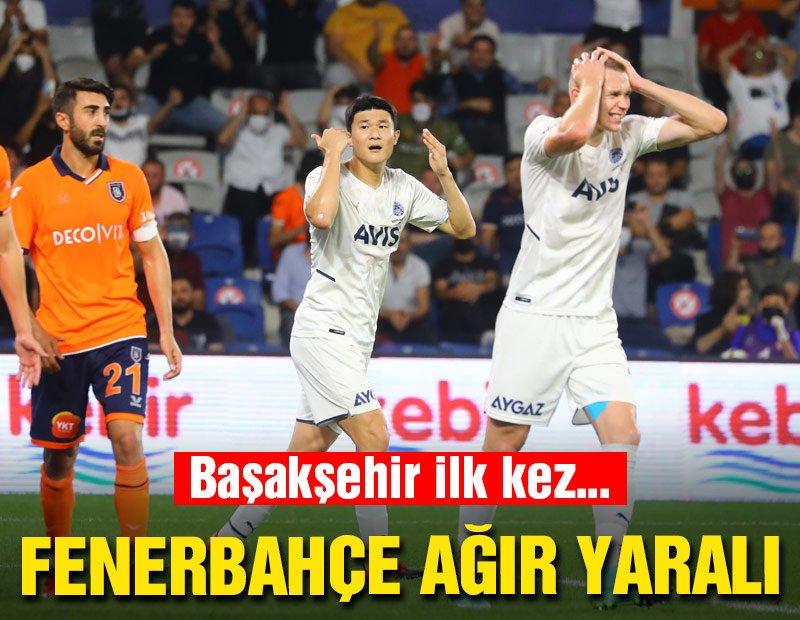 Fenerbahçe, Başakşehir deplasmanında ağır yaralı: 2-0