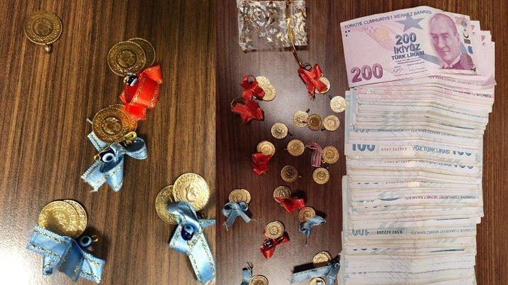 Kuyumcuya sahte altın satmaya çalışırken kıskıvrak yakalandılar