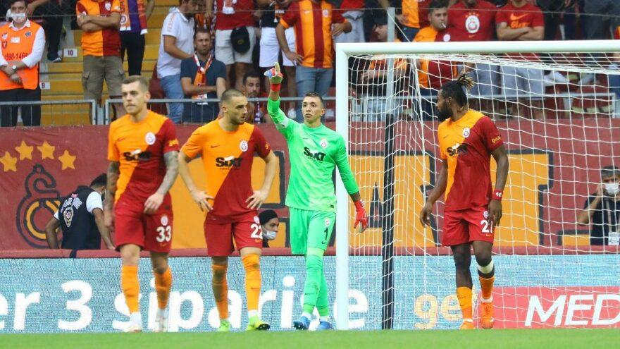 Galatasaray-Alanyaspor maçında son anlarda gelen gol seriyi bitirdi