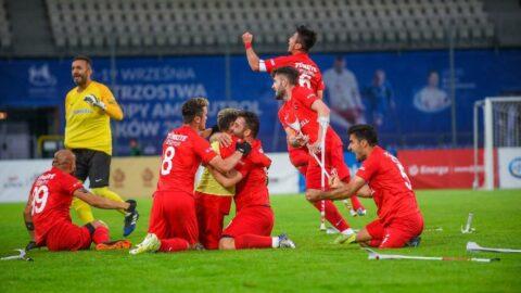 İspanya'yı yenen Ampute Milli Takımımız Avrupa şampiyonu!
