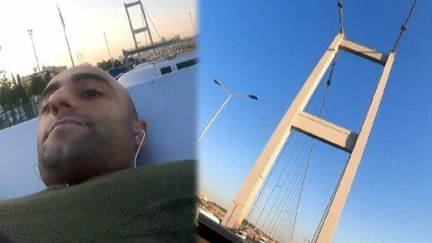 Bu kez 15 Temmuz Şehitler Köprüsü'nde ortaya çıktı! Görüntüler 'pes' dedirtti