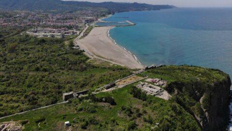 Karadeniz'in Efes'i ziyaretçi akınına uğradı
