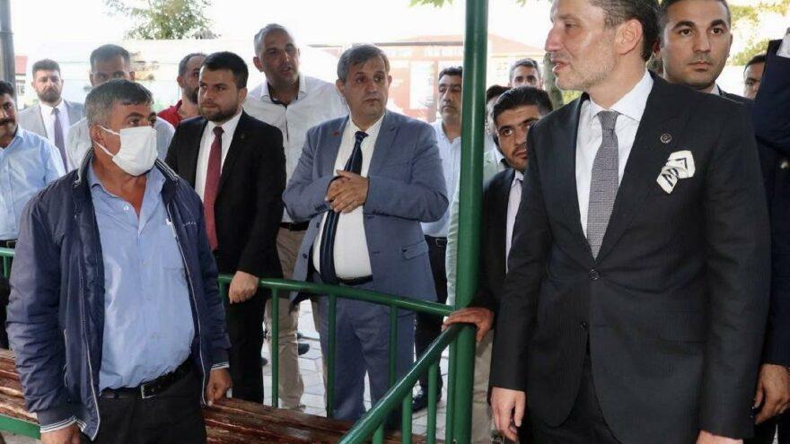 Erbakan'ın ziyaretinin ardından ilçe başkanına saldırı