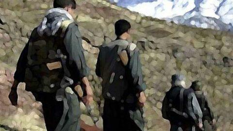 PKK'dan kaçan 5 terör örgütü mensubu teslim oldu