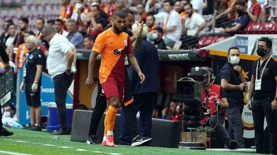 Galatasaray taraftarından Babel ve Yedlin'e tepki