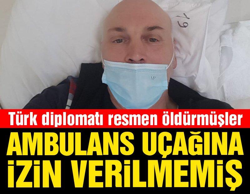 """Türk diplomatı """"corona vakası olmayan Türkmenistan"""" resmen ölüme sürüklemiş"""