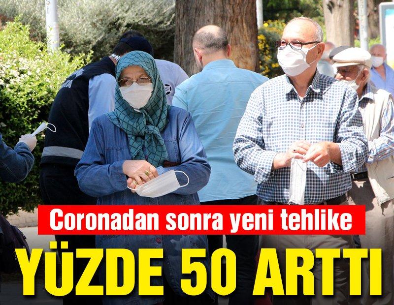 Coronanın ardından 65 yaş üstü için yeni tehlike! Yüzde 50 arttı