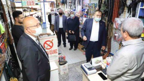 AKP'li vekile göre esnafın yüzde 90'ı halinden memnun