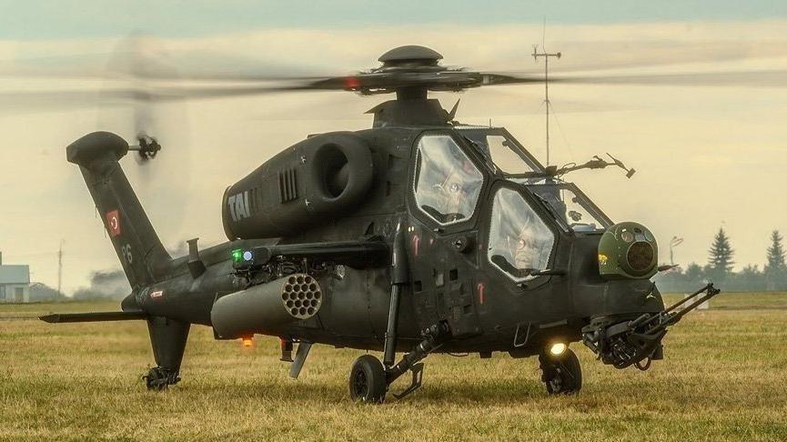 3 PKK'lı terörist Atak helikopterleriyle etkisiz hale getirildi