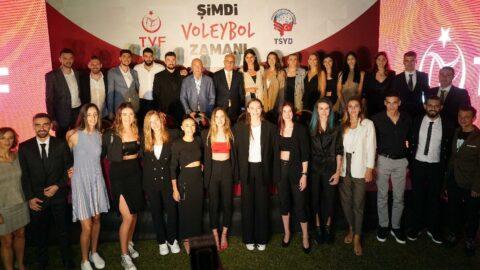 Filenin Efeleri ve Filenin Sultanları TSYD'de buluştu! 2022 müjdesi...
