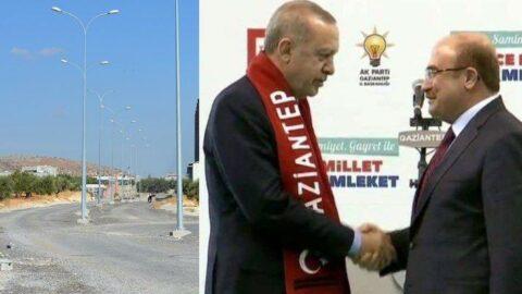 AKP'li başkan fabrikasına özel yol yaptı