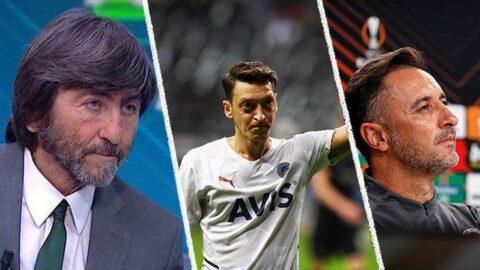 Rıdvan Dilmen'den Pereira'ya sert eleştiri! 'İnanılır gibi değil, Mesut Özil...'