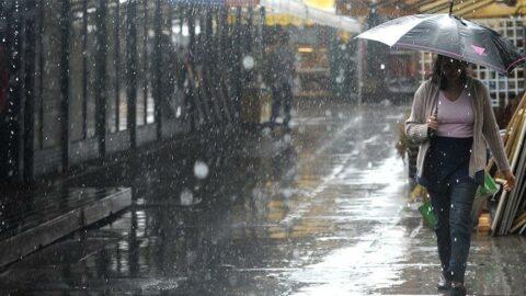 Sağanak yağış geliyor... 10 derece birden soğuyacak!