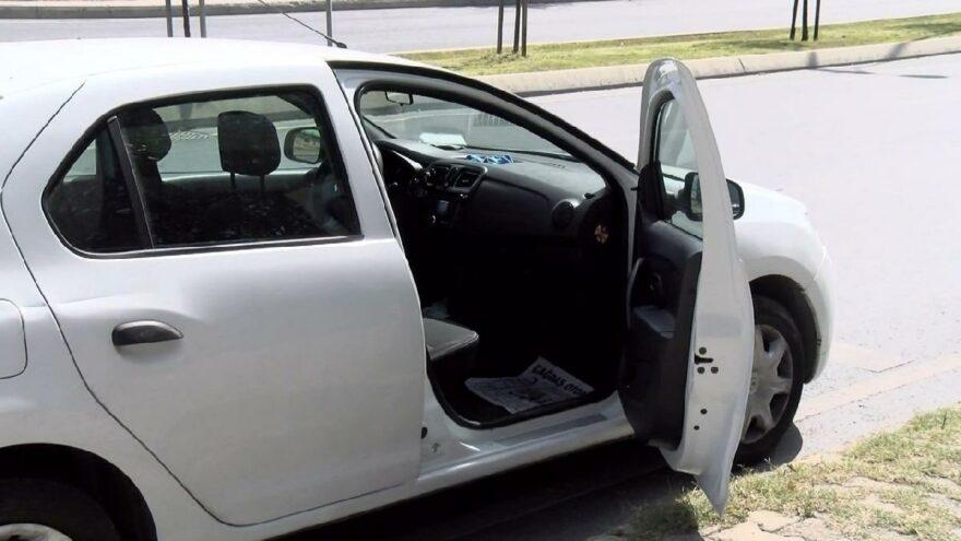 Aracın lastiğini değiştiren muhasebeci hayatının şokunu yaşadı