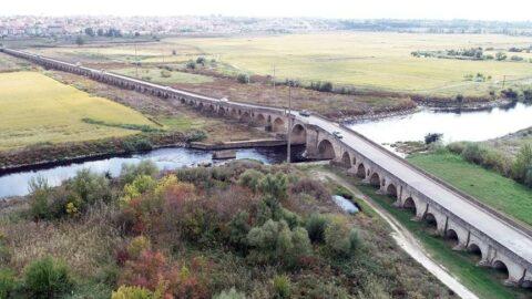 Tarihi Uzunköprü restorasyona alındı