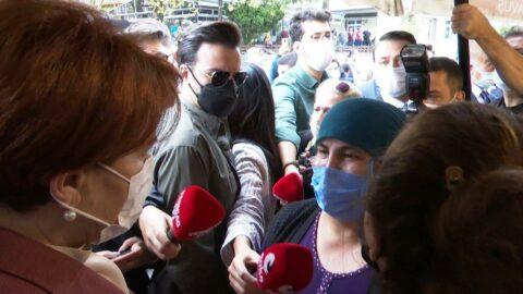 Vatandaş Akşener'e böyle dert yandı: Kendimizi doyuramıyoruz ki çoluk çocuk doyuralım