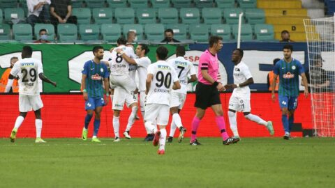 10 kişilik Altay, Rizespor deplasmanında kazandı: 1-2