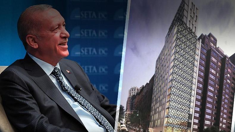 Erdoğan, New York'taki lüks yurt inşaatını yakından takip ediyor