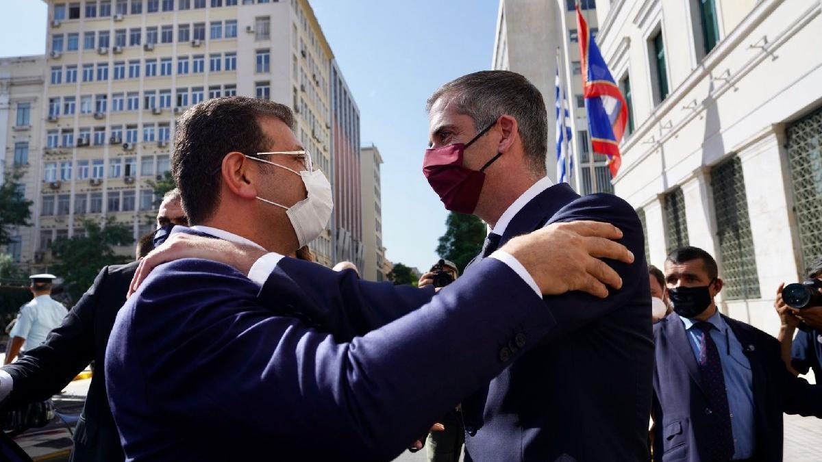 İmamoğlu Atina'dan seslendi: Ortak akılla çözülemeyecek sorun yok