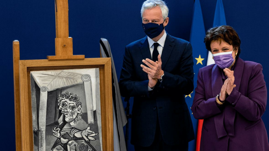 Vergi olarak sanat eseri bağışladı: Picasso eserleri Fransa'da