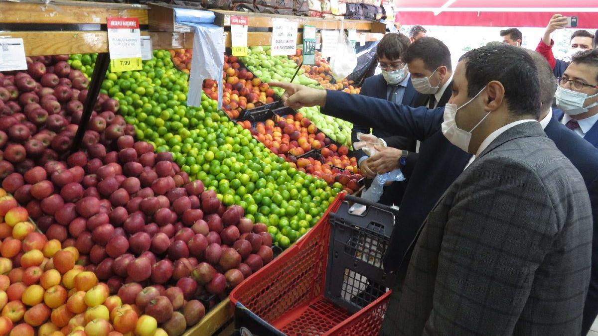 Üsküdar'daki marketlere 'fahiş fiyat' denetimi