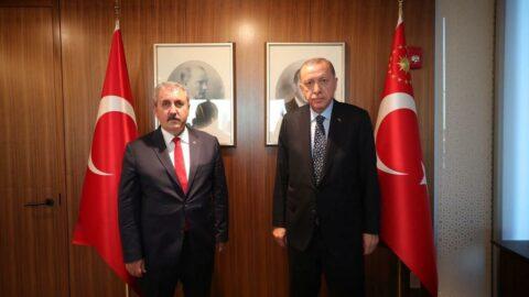Destici'den Erdoğan'a teşekkür