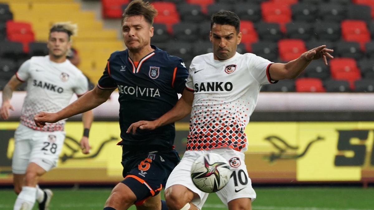 Gaziantep FK-Başakşehir maçında tarihe geçen golle gelen galibiyet