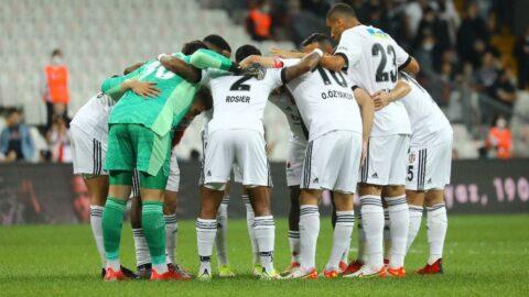 Beşiktaş'ın kulübesi zayıf kaldı