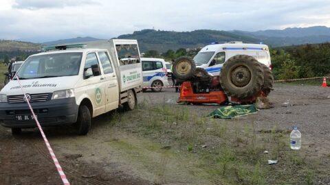 Traktörle drift faciayla sonuçlandı