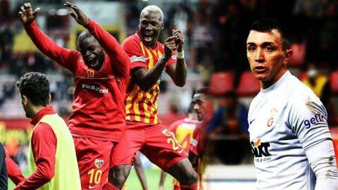 Galatasaray, Kayseri'de tarihi hezimet yaşadı!