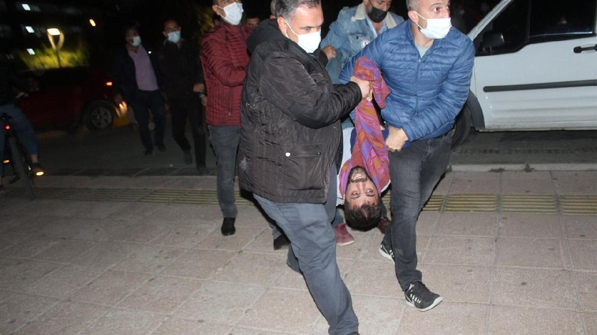 'Barınamıyoruz' eylemlerine polis müdahalesi