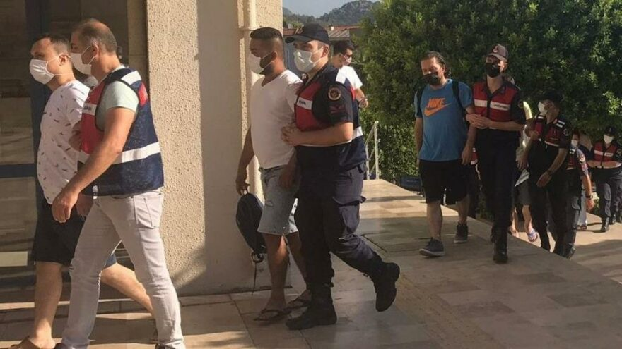 FETÖ şüphelileri Yunan adalarına kaçmak isterken yakalandı