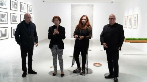 """Günümüz Sanatçıları Ödülü Sergisi"""" açıldı"""